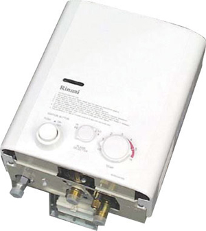 Rinnai Gas Water Heater For Mobile Catering Trailers Vans